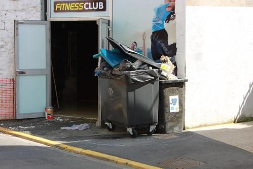 Le club de Fitness rue Camille Flammarion évacue