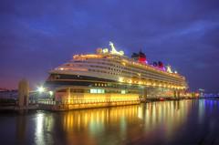 Disney Magic  in Liverpool (Jeffpmcdonald) Tags: uk liverpool cruiseship disneymagic disneycruiselines waltdisneyco liverpoolcruiselinerterminal nikond7000 jeffpmcdonald may2016