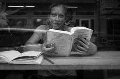 Elena Ferrante (Janne Drossos) Tags: portrait blackandwhite blackwhite sweden streetphotography streetportrait swedish minimal fujifilm sverige minimalism streetportraits x100 streetcandid blackandwhiteportrait blackandwhitecandidportrait