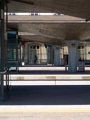 Waiting (marina_felix) Tags: building station architecture train person cement line wait concret 366 3651