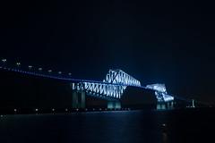 DSC04498 (Zengame) Tags: bridge japan architecture night zeiss tokyo sony illumination landmark illuminated cc jp creativecommons    distagon     wakasu   a6300  tokyogatebridge   distagontfe35mmf14za fe35mmf14 6300 distagonfe35mmf14