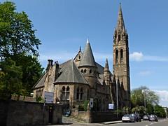 St Jude's Free Presbyterian Church (Wider World) Tags: church scotland sandstone glasgow spire neogothic westend woodlandsroad