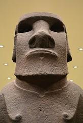 Easter Island Statue (pjpink) Tags: uk england london museum spring ancient britain may bloomsbury britishmuseum artifacts 2016 pjpink