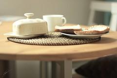 Good morning! (Jorgepevet) Tags: coffee breakfast cafe toast butter goodmorning desayuno tostada mantequilla