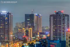 vl_04815 (Hanoi's Panorama & Skyline Gallery) Tags: street city sunset sky building skyline architecture skyscraper canon asian eos asia downtown capital skylines architect hanoi asean appartment hànội vincom skyscrapercity badinh cầugiấy eurowindow caoốc bađình hanoiskyline hanoipanorama keangnamlandmark hanoicityscape vincomnguyenchithanh