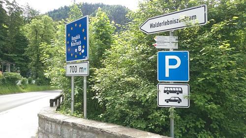 Parkplatz am Lechfall