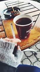 (selinyildiiz) Tags: tray ash collegelife college smokergirl woman cool relax chill peace peaceful alone lonely sad love rain rainy cold winter myday me girl smokinggirl smoker smoking smoke cigar cigarette bonjour goodmorning morning tea coffee