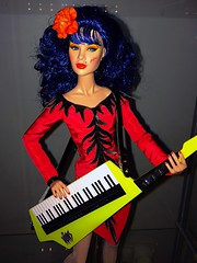 The Music Awards Stormer of the Misfits (adelayd85) Tags: toys doll dolls barbie retro 80s jem misfits hasbro integrity keytar stormer holograms