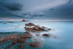 L'le d'Or @ Le Dramont #7 (French Riviera) (Eric Rousset) Tags: sunset sea mer seascape france nature canon landscape photography europe mediterranean ctedazur tintin paysage var canonef1740mmf4lusm nisi waterscape mditerrane frenchriviera herg 2016 ndfilter provencealpesctedazur ledramont canoneos5dmarkii ericrousset lledor nisifstopperirndmkiind64 nisifstopperirgnd809hard