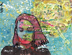 Michal Becomes the Color Spectrum (Marc-Anthony Macon) Tags: art punk outsiderart surrealism popart dada artbrut dadaism punkart dadaísmo