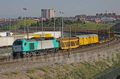 335.005 (Mariano Alvaro) Tags: pool tren trenes vallecas 335 iberico vossloh transfesa