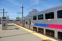 On the Platform (craigsanders429) Tags: platforms trainstations stations newjerseytransit northeastcorridor passengertrains passengercars commutertrains newarkairportstation