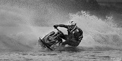 JSRA, Crosby 12-06-2016 (wiganworryer) Tags: bw white lake black ski sports water monochrome bike sport race canon lens outside photography prime mono photo marine image action outdoor centre side jet picture keith racing spray lakeside full adventure frame l series fixed splash f56 gibson crosby 6d merseyside 400mm 2016 jsra wiganworryer