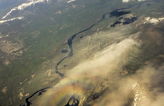 Over the Rainbow (galushchak) Tags: travel summer june clouds rainbow aerial siberia wilderness irkutsk overtherainbow 2016 galushchak bodaibo