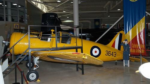 Fleet 60K Fort at Canadian Warplane Heritage