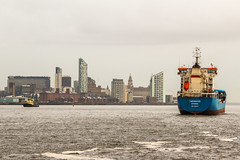 The arrival (saile69) Tags: commerce mersy river tankers liverpool skyline