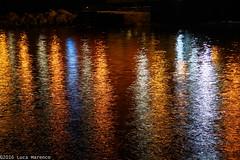 Colors (Luke 7 FPS) Tags: night light long exposure longexposure longexp moon sea water black colour canon eos 550d 550 manfrotto tripod tri reflex