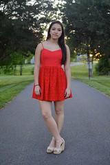 (imkaifilbey) Tags: sunset red portrait woman sun black green girl sunshine hair soft pretty body path