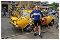 Mavic Service Car. (Paris-Roubaix) Tags: park england car bicycle festival vintage flying district peak event scot national service bakewell mavic britannia eroica the neutral 2016