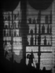 Take One Down, Pass It Around ( estatik ) Tags: county blackandwhite bw blackwhite alley long exposure shadows bottles pennsylvania monotone pa newhope bucks