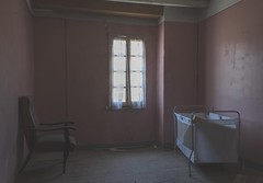 Early one summer morning (Stanza 61) Tags: ariege midipyrenees room window narrative interior sombre melancolic chair bed france country light foix