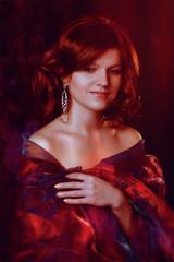 Yana (Anna Atlas) Tags: portrait color girl beauty fashion artwork fineart photoart studioportrait