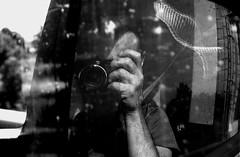 portrait (marcobertarelli) Tags: man young portrait fuji photo self bw black withe contrast light car mirror glass people human life