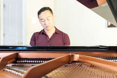 Deep in the music (EngTurtle) Tags: portrait musician music dedication photoshoot piano