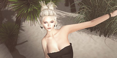 look of the day 2016/06/28 (=DeLa*=) Tags: hair shiny mesh style potd sl secondlife dela uber materials shabby lotd fitted secondlifefashion slhair