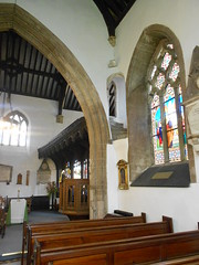 Photo of Conwy. Church of St. Mary & All Saints. The rood screen.