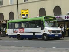 Notts&Derby 297 Derby (Guy Arab UF) Tags: street bus buses mercedes benz derbyshire albert 1999 beaver derby 297 plaxton nottsderby o814d wellglade wellgladegroup s297ual