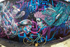 New York Street Art (jomak14) Tags: bianchipista fisheyeview fixedgear goprohero3 newyork stillphoto streetart wheremybiketakesme 2016 wellingcourtmuralproject