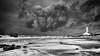 All Is Contact... (sebistaen) Tags: rx100 sébastienlemercier beach black cloud flickr photography sea sebistaen sky wave white