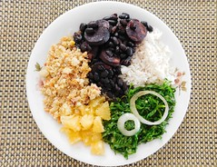 Feijoada Brazilian Food! (denise.bardauil) Tags: beans cabbage oranges feijoada brazilianfood