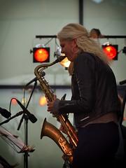 Christina Dahl - a saxophone Profile (Peder Sterll) Tags: festival copenhagen denmark concert nikon outdoor christina jazz nikkor sax danmark f4 saxophone kbenhavn dahl 70200mm 2016 vanlse d7100 cphjazz jazzundersejlet