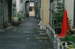 streets of Wada-Misaki (miho's dad) Tags: kodaksupergold400 contaxrx carlzeisssonnart2885aeg
