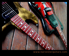2Antonios (Harvester Guitars) Tags: metal neck aluminum guitar guitars australia melbourne luthier harvester wandre