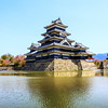 Matsumoto Castle (yanwym) Tags: castle water japan canon wooden stonework matsumoto nagano nationaltreasure 16thcentury 600d hirajiro