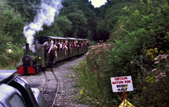 Railways - Train arriving at East Wheal Rose on the Lappa Valley Railway (Biffo1944) Tags: railway railways wheal valley east rose lappa