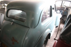 Standard 8 Saloon. Classic Car Museum/Dealer, Pilimathalawa, Sri Lanka (SurreyWanderer) Tags: classiccar fifties triumph srilanka standard eight forties mayflower