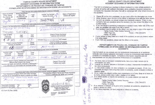 20120530 - accident report - Clint was hit by 82-year old man (public) (Rev. Xanatos Satanicos Bombasticos (ClintJCL)) Tags: ohio 2004 car virginia accident report shell 1999 gasstation toyota vehicle clint chrysler camry 2012 annandale chryslercar 300m toyotacamry 201205 chrysler300m camry2004 accidentreport toyotacar camrycar 2004car chrysler300mcar chrysler300m1999 chrysler300m1999car 300mcar 300m1999 300m1999car 1999car toyotacamrycar 20120530 toyotacamry2004 toyotacamry2004car camry2004car