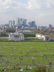 View from Greenwich Park @ Greenwich (everydaylife.style) Tags: