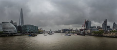 Stormy London (elmdcw) Tags: storm london thames towerbridge londonbridge cityhall hmsbelfast shard gherkin rx100