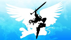 Core Set: Serra Angel (gathering_magic) Tags: wallpaper sky white classic set angel coast flying magic spell gathering serra creature vector core wizards vigilance