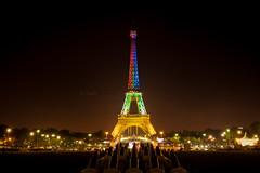 United colors of Tour Eiffel (Paul Rodrigues Photographies -OFF-) Tags: paris france monument nikon torre tour eiffeltower illumination eiffel toureiffel torreeiffel capitale lumires fer eclairage canons trocadro fontaines afriquedusud damedefer d700 paulrodriguesphotographies