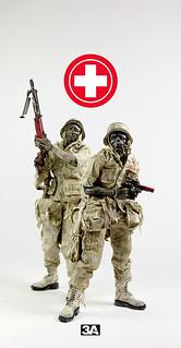 【圖片更新】threeA - SDCC 2013 限定醫療殭屍