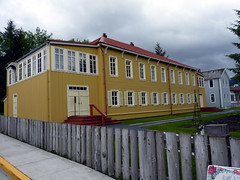 Russian Bishops house in Sitka AK (zenosaurus) Tags: vacation snow mountains ice alaska russia glacier juneau glaciers sitka eagles russianorthodox