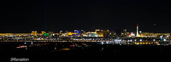 Nellis afb at night. (Steve Cooke-SRAviation) Tags: vegas skyline night lasvegas 133 nellisafb lasvegasskyline 1dmk3 57wing 57atg 65as 64as nightshotskyline