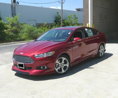 2013 Ford Fusion With The 3dcarbon Body Kit Part 692039 A Photo