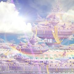 Atlantis (Amaviael) Tags: fractal fractals incendia